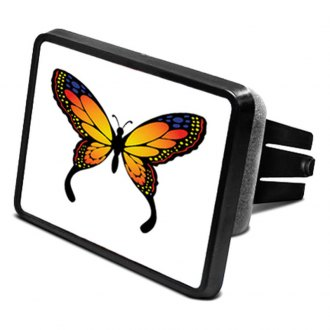 "DWD® - 2"" Hitch Cover with Butterfly Logo"