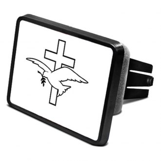 "iPickimage® - Hitch Cover with Dove Logo for 2"" Receivers"