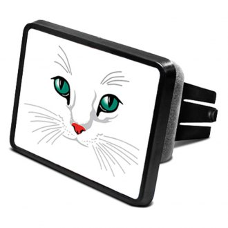 DWD® - 2 Hitch Cover with Cat Eyes