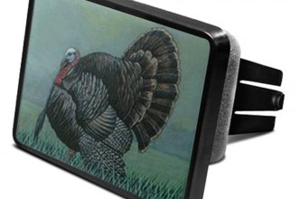 "DWD® - 2"" Hitch Cover with Turkey"