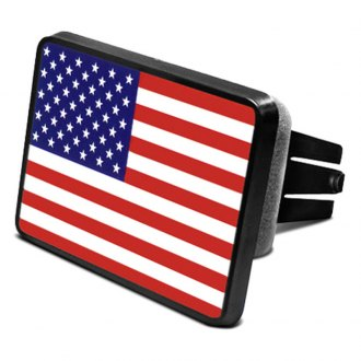 "DWD® - 2"" Hitch Cover with USA Flag"