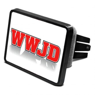 "DWD® - 2"" Hitch Cover with WWJD"