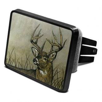 "iPickimage® - Hitch Cover with Deer Logo for 2"" Receivers"