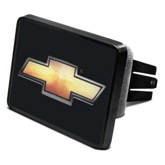 "iPickimage® - Hitch Cover with Chevy Gold Bowtie Logo for 2"" Receivers"