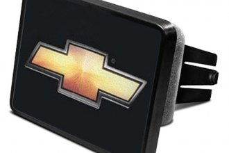 "DWD® 202088 - 2"" Hitch Cover with Chevy Gold Bowtie"