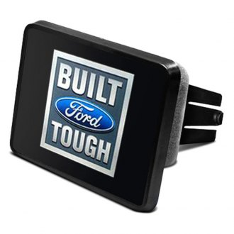 "DWD® - 2"" Hitch Cover with Built Ford Tough Logo"