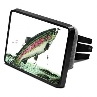 "DWD® - 2"" Hitch Cover with Trout"