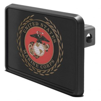 "iPickimage® - Hitch Cover with Marines Logo for 2"" Receivers"