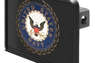 "DWD® - 2"" Hitch Cover with NAVY Logo"