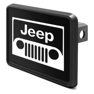 DWD® - 2 Hitch Cover with Jeep Grill Logo
