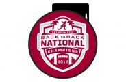 "DWD® - 2"" Hitch Cover with Back2Back National Champions"