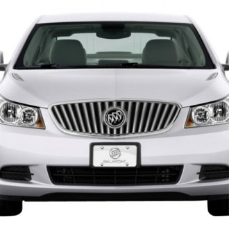 iPickimage® - 3D Buick Double Logo on Chrome Stainless Steel License Plate