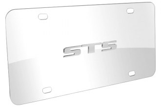 DWD® - 3D STS Logo on Chrome Stainless Steel License Plate