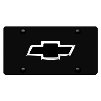 iPickimage® - License Plate with Chevrolet Emblem