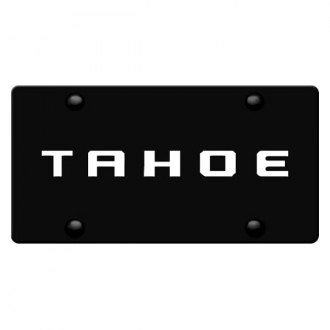 iPickimage® - License Plate with Tahoe Logo