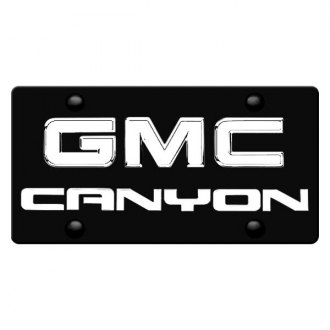 iPickimage® - License Plate with Canyon Logo and GMC Emblem