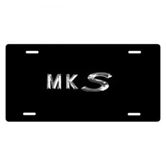 DWD® - MKS Logo on Black Stainless Steel License Plate