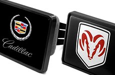 DWD Hitch Covers: Cadillac, Dodge
