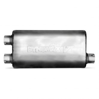 DynoMax® - VT™ Offset-Dual Stainless Steel Oval Muffler