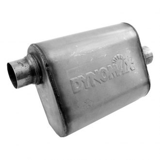 DynoMax® - Ultra Flo™ Welded Stainless Steel Oval Exhaust Muffler