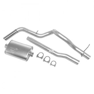 DynoMax® - Super Turbo™ Aluminized Steel Single Cat-Back Exhaust System with Single Side Exit