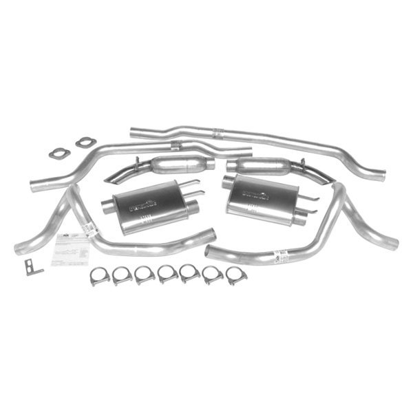 DynoMax® - Ultra Flo™ Aluminized Steel Cat-Back Dual Exhaust System