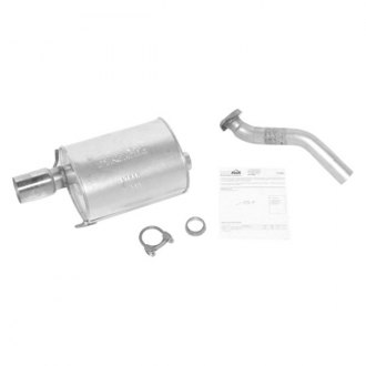 DynoMax® - Super Turbo™ Aluminized Steel Single Cat-Back Exhaust System with Single Rear Exit