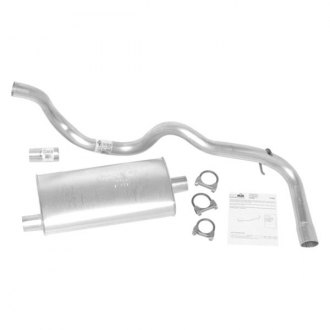 DynoMax® - Super Turbo™ Aluminized Steel Single Cat-Back Exhaust System with Single Exit
