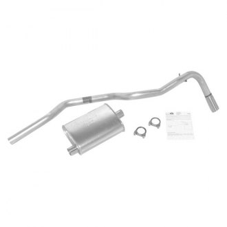 DynoMax® - Super Turbo™ Aluminized Steel Single Axle-Back Exhaust System with Single Exit
