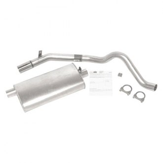 DynoMax® - Super Turbo™ Aluminized Steel Single Axle-Back Exhaust System with Single Side Exit
