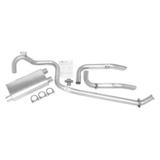 DynoMax® - Super Turbo™ Aluminized Steel Dual Cat-Back Exhaust System with Split Rear Exit