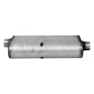 DynoMax® - Ultra Flo™ Welded Offset-Center Stainless Steel Oval Muffler