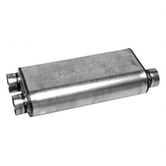 DynoMax® - Ultra Flo™ Welded Offset - Dual Stainless Steel Oval Muffler