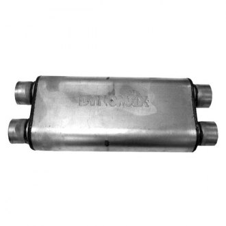 DynoMax® - Ultra Flo™ Welded X Dual - Dual Stainless Steel Oval Muffler