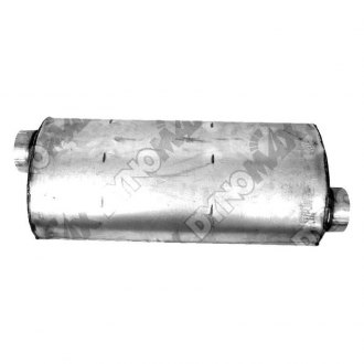 DynoMax® - Ultra Flo™ Welded Offset - Offset Stainless Steel Oval Muffler