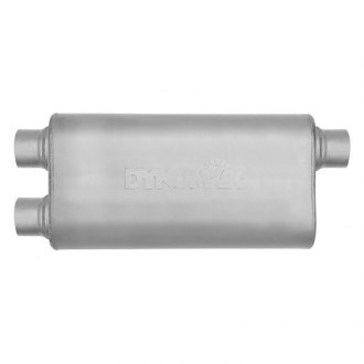 DynoMax® - Ultra Flo™ Welded Offset-Dual Stainless Steel Oval Muffler