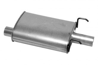 "DynoMax® 17666 - Super Turbo™ Direct Fit Muffler (2.25"" Offset Inlet / 2.5"" Center Outlet)"
