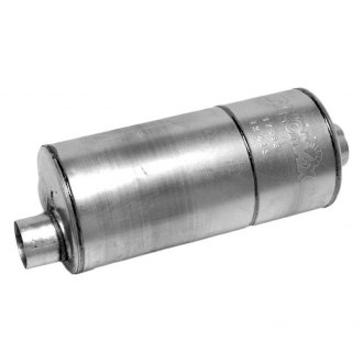 DynoMax® - Super Turbo™ Offset - Offset Aluminized Steel Round Muffler
