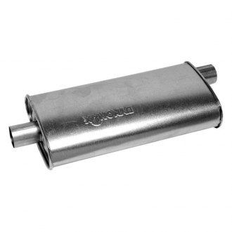 DynoMax® - Super Turbo™ Center - Offset Aluminized Steel Oval Muffler