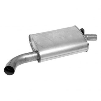 DynoMax® - Super Turbo™ Offset - Center Aluminized Steel Oval Muffler