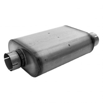 DynoMax® - VT™ Center-Offset Stainless Steel Oval Muffler