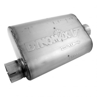 DynoMax® - VT™ Stainless Steel Oval Exhaust Muffler