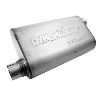 DynoMax® - VT™ Offset-Offset Stainless Steel Oval Driver Side Muffler