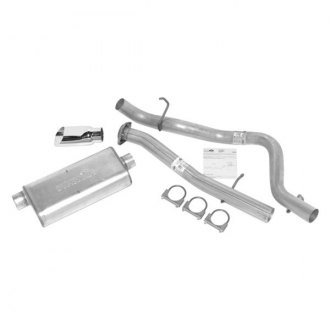 DynoMax® - Ultra Flo™ Aluminized Steel Single Cat-Back Exhaust System