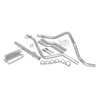 DynoMax® - Super Turbo™ Aluminized Steel Dual Cat-Back Exhaust System