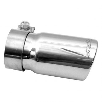 DynoMax® - Stainless Steel Round Buffed and Polished Passenger Side Exhaust Tip