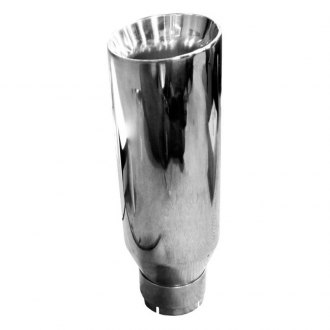 DynoMax® - Stainless Steel Round Buffed and Polished Exhaust Tip