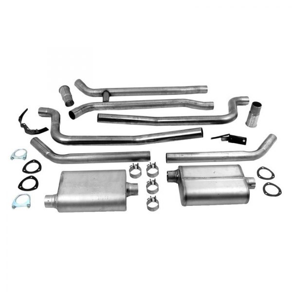 DynoMax® - VT™ Stainless Steel Header-Back Dual Exhaust System