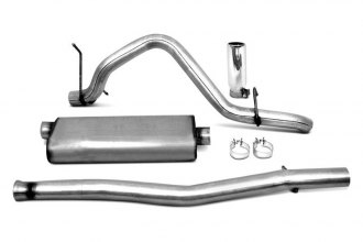 DynoMax® 38495 - VT™ Stainless Steel Cat-Back Exhaust System (Angle Exit)