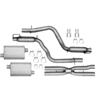 DynoMax® - VT™ Stainless Steel Cat-Back Dual Exhaust System